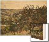 Apple Trees Near Vetheuil Poster by Monet Claude
