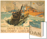 Invest in the Victory Liberty Loan Poster Wood Print by L.a. Shafer