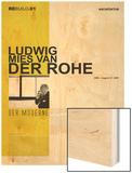 Mies Van Der Rohe Poster Wood Print by  NaxArt