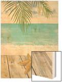 Beach Life Wood Print by Arnie Fisk