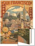 San Francisco, California Scenes Print