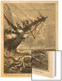 20,000 Leagues Under the Sea: Attacking a Giant Squid Poster