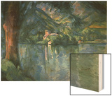 Lake Annecy Wood Sign by Cézanne Paul