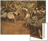 Ballet Scene Prints by Degas Edgar