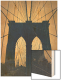 Brooklyn Bridge Posters by  NaxArt