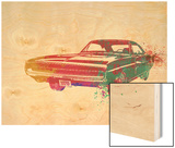 1967 Dodge Charger 1 Wood Print by  NaxArt