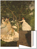 Femmes au jardin (Women in the Garden), 1866-67 Prints by Monet Claude