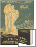 Yellowstone National Park, c.1938 Wood Print