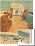 Kennebunkport, Maine - Lobster Boat Prints