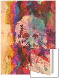 Einstein Watercolor Prints by Anna Malkin