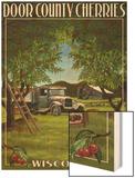 Door County, Wisconsin - Cherry Harvest Prints by  Lantern Press