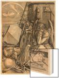 Melancholia Wood Print by Albrecht Dürer