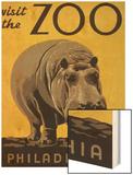 Visit the Philadelphia Zoo Wood Print