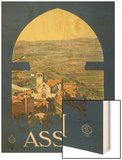 Assisi, c.1920 Wood Print by Vittorio Grassi