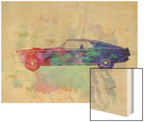 Ford Mustang Watercolor 1 Prints