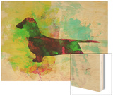 Dachshund Watercolor Posters