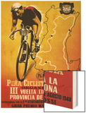 Bicycle Racing Promotion Posters by  Lantern Press