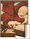 Chamonix Mont-Blanc, France - 1924 Olympic Winter Games Poster Prints by  Lantern Press