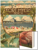 Fort Myers, Florida - Montage Scenes Poster by  Lantern Press