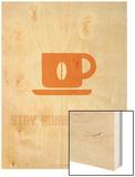 Coffee Poster Orange Prints