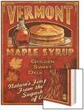 Vermont - Maple Syrup Posters by  Lantern Press