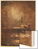 Frederic Chopin Polish Musician Composing His C Minor Etude Wood Print by Norman Price