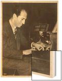 George Gershwin American Composer Wood Print