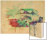 Porsche 911 Watercolor 2 Print