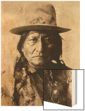 Sitting Bull (Tatanka Iyotake) 1831-1890 Teton Sioux Indian Chief Wood Print