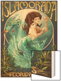 Islamorada, Florida Keys - Mermaid Posters by  Lantern Press