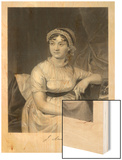 Jane Austen English Novelist Wood Print