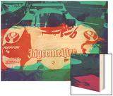 Porsche 956 Jagermeister Wood Print by  NaxArt