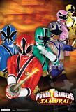 Power Rangers Samurai Group Television Poster Plakater