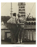 Couple at Coney Island, 1928 Posters by Walker Evans