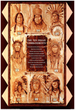 Paul Morgan The Ten Indian Commandments Art Print Poster Prints