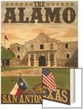 The Alamo Morning Scene - San Antonio, Texas Posters