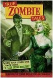 Zombie Tales Pulp Print