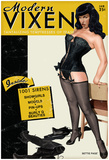 Bettie Page Modern Vixen Pin-Up Prints