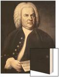 Johann Sebastian Bach Wood Print by Elias Gottlob Haussman
