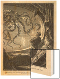 20,000 Leagues Under the Sea: Giant Squid Seen from the Safety of the Nautilus Prints