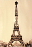Eiffel Tower In Paris France Poster Print Prints