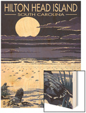 Hilton Head, South Carolina - Baby Turtles Hatching Prints by  Lantern Press