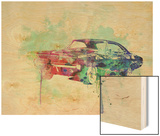 1968 Dodge Charger Wood Print by  NaxArt