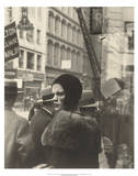 Girl in Fulton Street, New York, 1929 Posters by Walker Evans