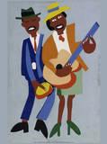 Blind Singer Plakater av William H. Johnson