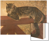 Cat on Balustrade Prints by Théophile Alexandre Steinlen