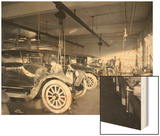 Second Hand Car Shop, 1921 Wood Print by Asahel Curtis