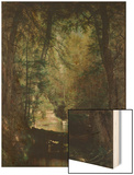 The Trout Pool Wood Print by Thomas Worthington Whittredge