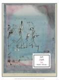 Twittering Machine, 1922 Poster von Paul Klee