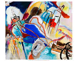 Improvisation No. 30 - Cannons (1913) Affiche par Wassily Kandinsky